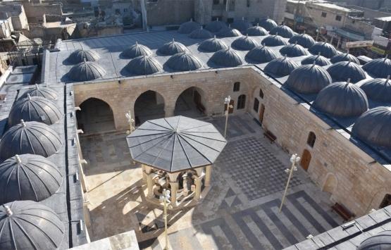 Türkiye Vakıflar Genel Müdürlüğü'nün restore ettiği El Bab Ulu Camii açıldı!