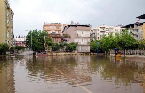 Aydın sokakları göle