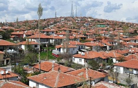 Ankara Altındağ'da 1 yılda 602 yapıya ruhsat verildi!