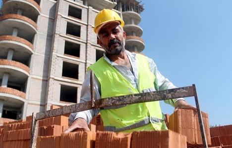 İş kazalarının yüzde 10'u inşaatlarda meydana geliyor!