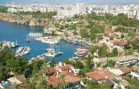 Antalya'ya gelen turist sayısında 7,7'lik artış oldu!