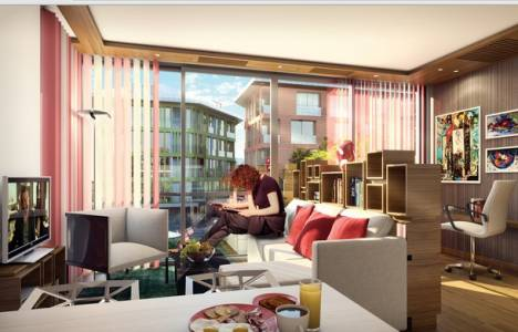Sarıyer Panorama Koç Life örnek daire! Metrekaresi 6.300 TL!