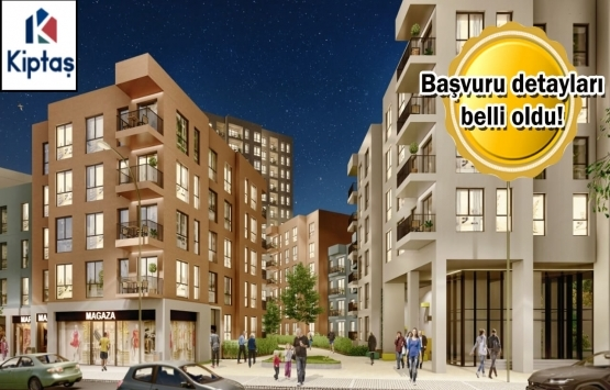 KİPTAŞ Tuzla Meydan Evler projesinin temeli yarın atılıyor!