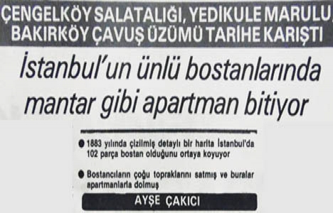 1981 yılında İstanbul'un