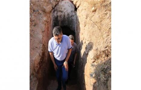 Urfa Kalesi kazı