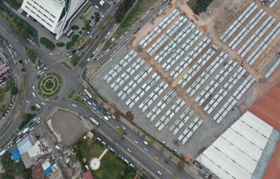 İzmir'de depremzedeler için yapılan geçici konaklama merkezinde sona gelindi!