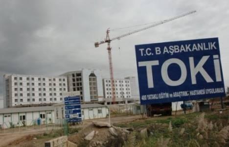 TOKİ 3 yılda 286 hastane inşa etti!