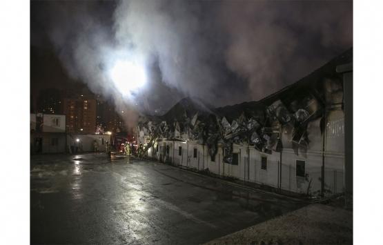 istanbul finans merkezi yangın