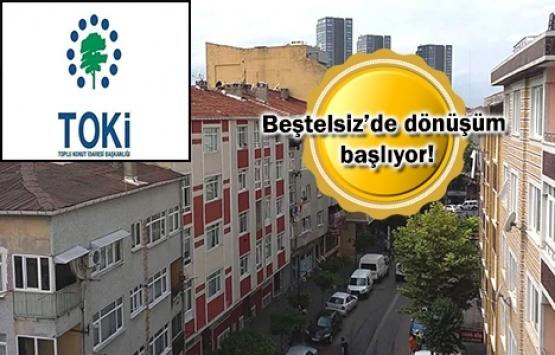 TOKİ Zeytinburnu Beştelsiz projesi için düğmeye bastı!