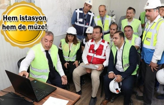 Beşiktaş Metrosu'nun açılışı