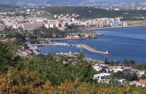 Aliağa'da İzmir Caddesi'nin