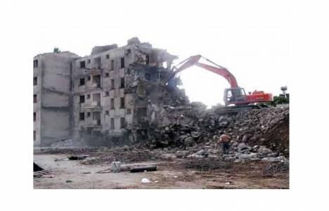 Kentsel dönüşüm yıkım süreci!