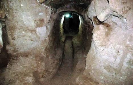 Kayseri'de miras kalan evden yeraltı şehri çıktı!