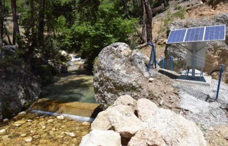 Finike kapalı sistem sulama tesisi tamamlandı!
