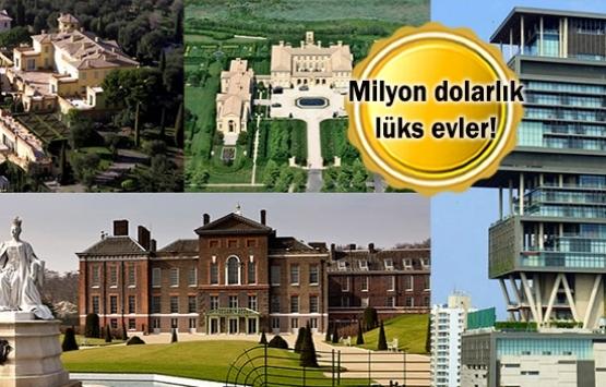 Dünyanın en güzel ve en pahalı 10 evi!