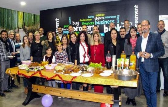 Antalyalı gayrimenkul danışmanları yeni yılı kutladı!