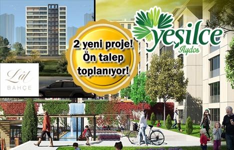 KİPTAŞ Yeşilce Aydos ve Lal Bahçe projeleri yolda! Yeni proje!