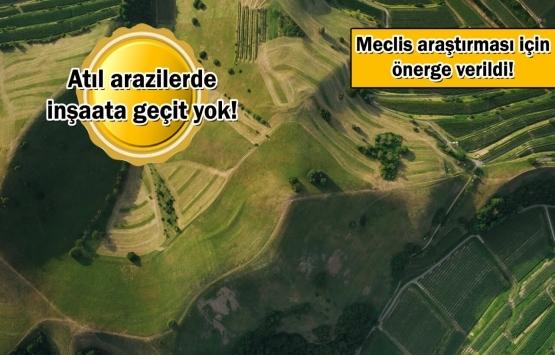 Hazine arazileri tarıma kazandırılacak!