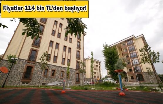 TOKİ'den 557 TL taksitle konut müjdesi!