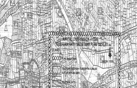 Kartal D100 Yakacık Aydos teleferik hattı imar planı 30 Haziran'da askıdan indiriliyor!
