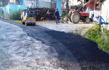 İzmit'teki köy yolları
