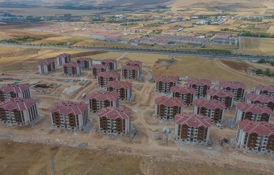 Elazığ TOKİ konutları inşaatında son durum ne?