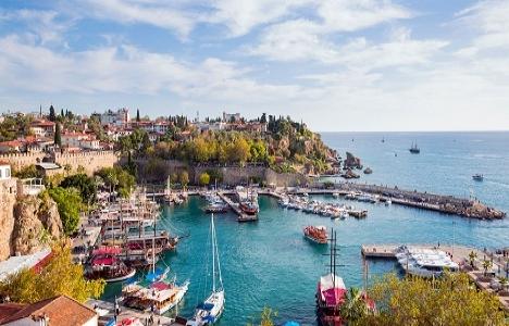 Antalya'da Kasım ayında
