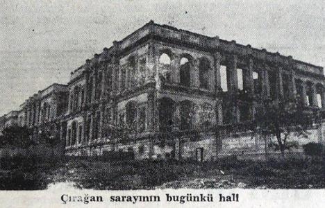 1945 yılında Çırağan