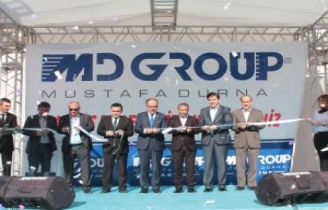 Konya'daki MD Grup merkez binası açıldı!