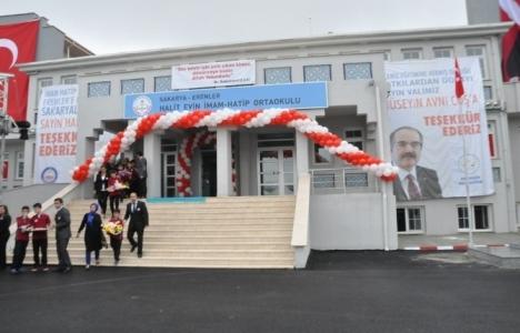 Sakarya Erenler Halit Evin İmam Hatip Ortaokulu açıldı!