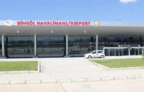 Bingöl Havalimanı inşaatında