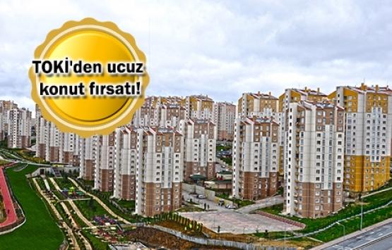 400 liradan az taksitli TOKİ evleri!