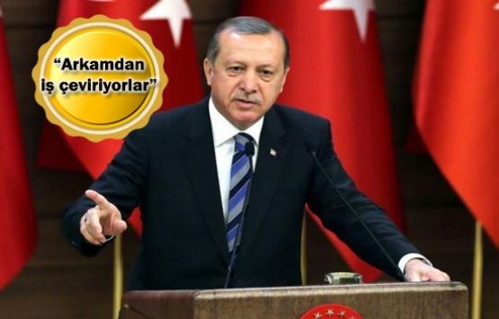 Cumhurbaşkanı Erdoğan'dan sert