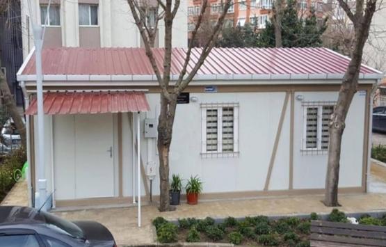 Antalya'da evi yanan kadın için konteyner ev inşa edildi!