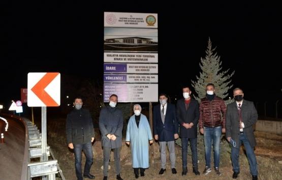 Malatya Havalimanı yeni terminal binasının temeli 6 Şubat'ta atılacak!