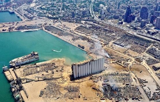 Alman firmaları, Beyrut Limanı yeniden imar planını Lübnan makamlarıyla paylaştı!