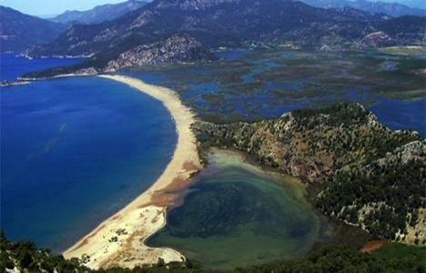 MSKÜ'den İztuzu Plajı