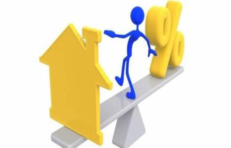 Faiz artışı kredili konut satışlarını yüzde 33.6 düşürdü!