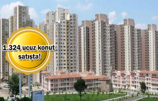 1000 TL'den az taksitli TOKİ projeleri Ocak 2019!