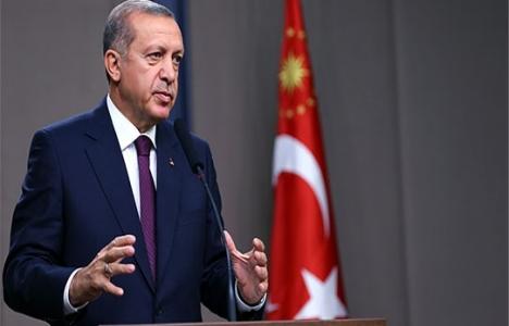 Cumhurbaşkanı Erdoğan'ın yatay