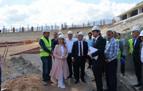 Mehmet Ergün Turan Malatya'daki TOKİ projelerini inceledi!
