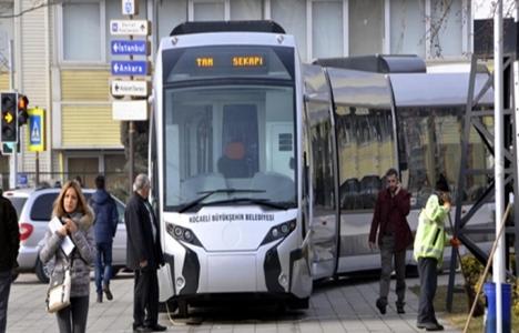 Kocaeli'ye tramvay geliyor!