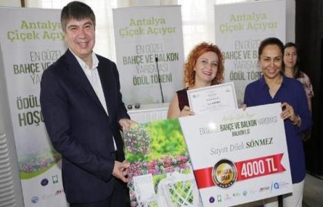 Antalya'da En Güzel Bahçe ve Balkon Yarışması 27 Mart'ta başlıyor!