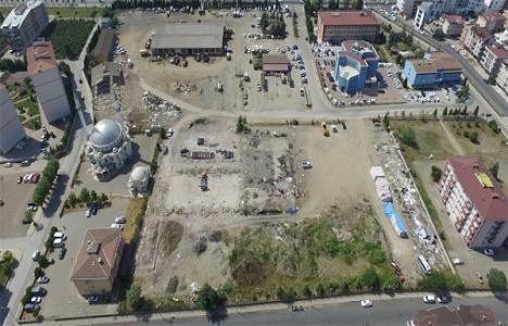Ordu Park AVM için yıkımlar başladı!