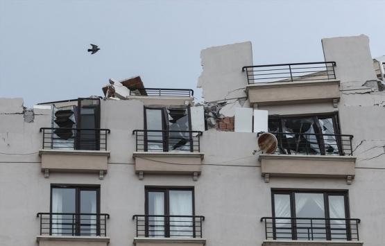 Ankara Büyükşehir'den tahliye edilen binalarda yaşayanlara destek!