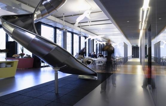 Verimliliği artıran firmalardan ilginç ofis tasarımları!