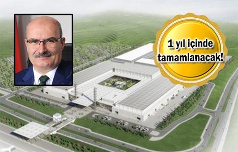 Ankara Uluslararası Fuar Alanı'nda inşaat başladı!