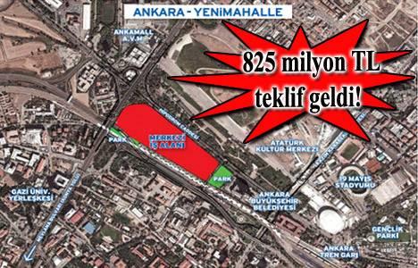 Emlak Konut Ankara Yenimahalle arsa ihalesinin ikinci oturumu sonuçlandı!