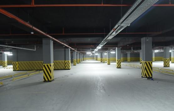 Konya Meram Yer Altı Katlı Otoparkı'nın inşaatı tamamlanıyor!