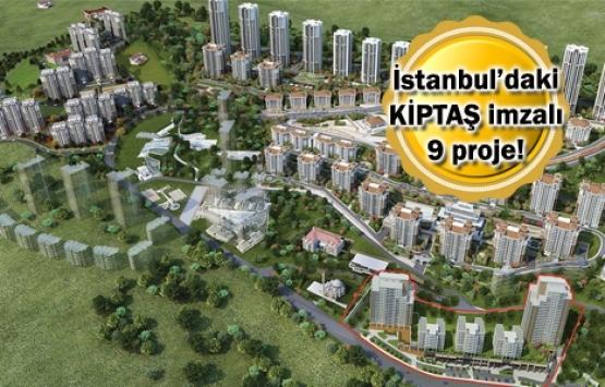 KİPTAŞ'ın satışı devam eden 9 projesi!